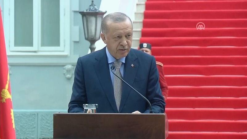 Cumhurbaşkanı Erdoğan: Karadağ'a en çok yatırım yapan 10 ülkeden biriyiz