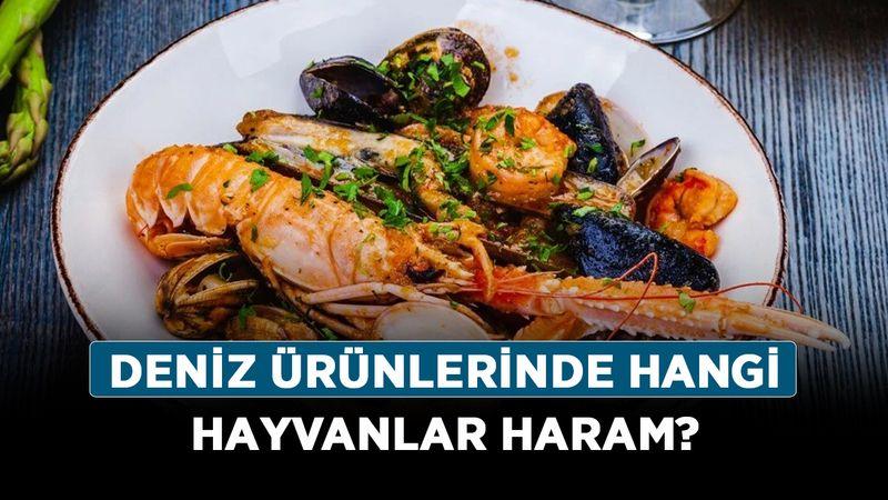 Deniz ürünlerinde hangi hayvanlar haram? Yengeç, midye, karides ve kalamar yemek helal mi?