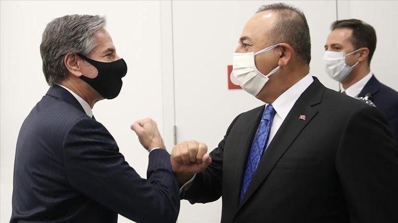 Dışişleri Bakanı Çavuşoğlu, ABD'li mevkidaşı Blinken ile telefonda görüştü