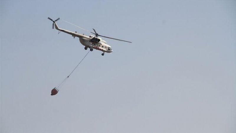 Tunceli Hozat'taki orman yangını kontrol altına alındı