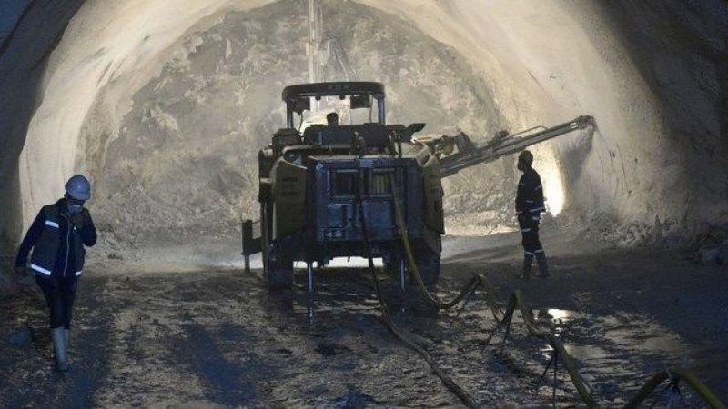 Zigana Tüneli'nde sona yaklaşıldı