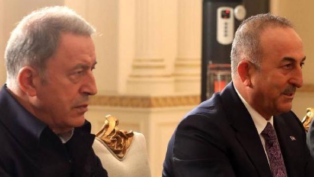 Bakan Akar ve Bakan Çavuşoğlu Katarlı mevkidaşlarıyla görüştü