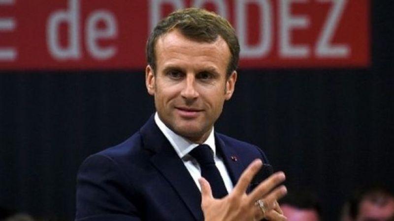 Fransa CumhurbaşkanıEmmanuel Macron'dan DEAŞ'la mücadele mesajı