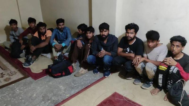 Van'ın İpekyolu ilçesinde 24 düzensiz göçmen yakalandı