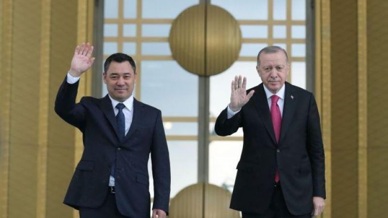 Cumhurbaşkanı Erdoğan, Kırgızistan Cumhurbaşkanı Sadır ile telefonda görüştü