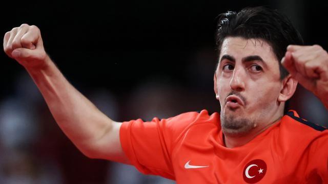 Masa tenisinde Abdullah Öztürk olimpiyat şampiyonu