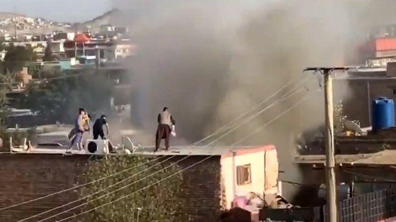 Kabil'de havalimanı yakınlarına roket atıldı: Saldırıyı DEAŞ üstlendi