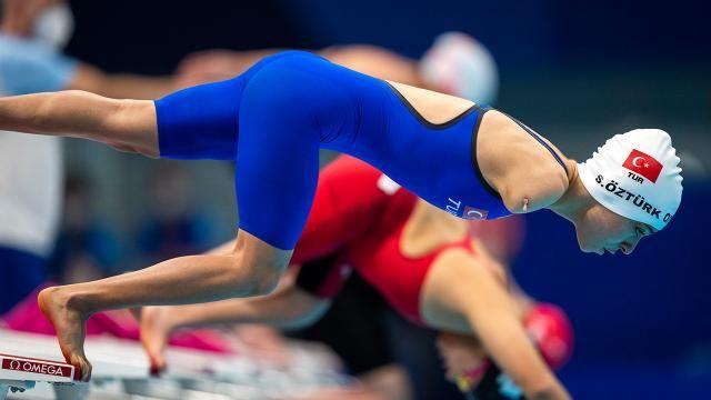 Milli sporcu Sevilay Öztürk tarih yazdı