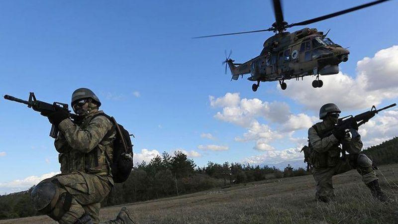 Suriye'nin kuzeyine operasyon! 7 terörist etkisiz halde