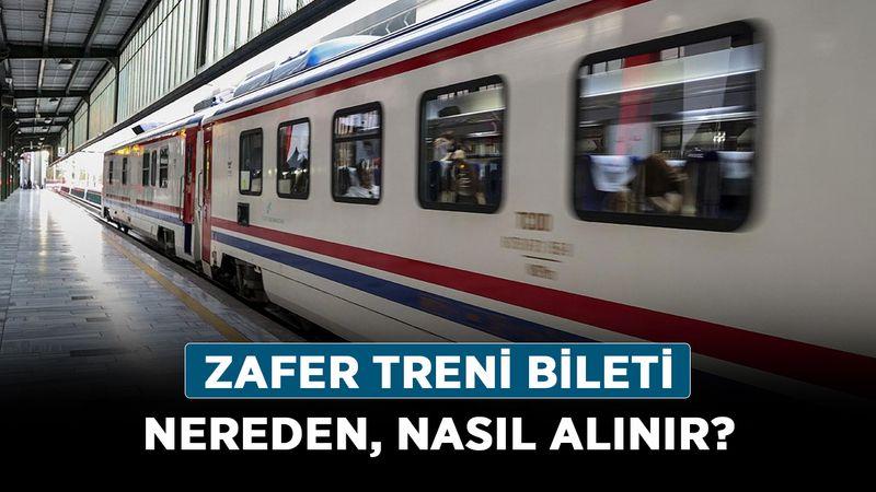 Zafer Treni bileti nereden, nasıl alınır? 30 Ağustos Zafer Bayramı hatıra bileti alma ekranı!