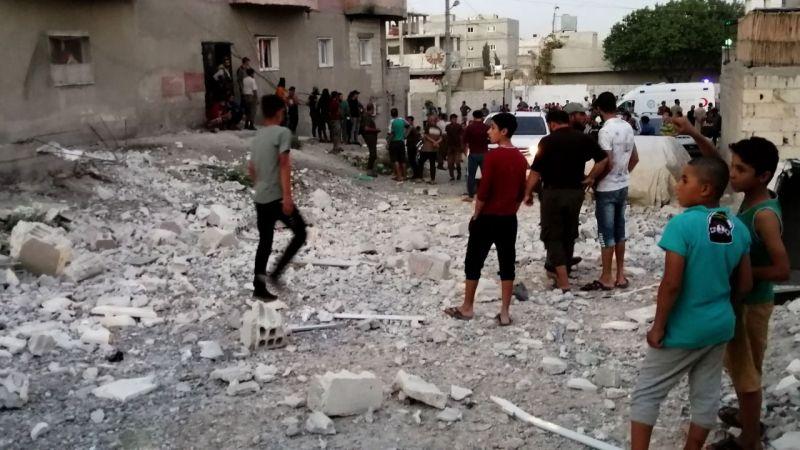 Cerablus'ta bombalı terör saldırısı: 5 yaralı