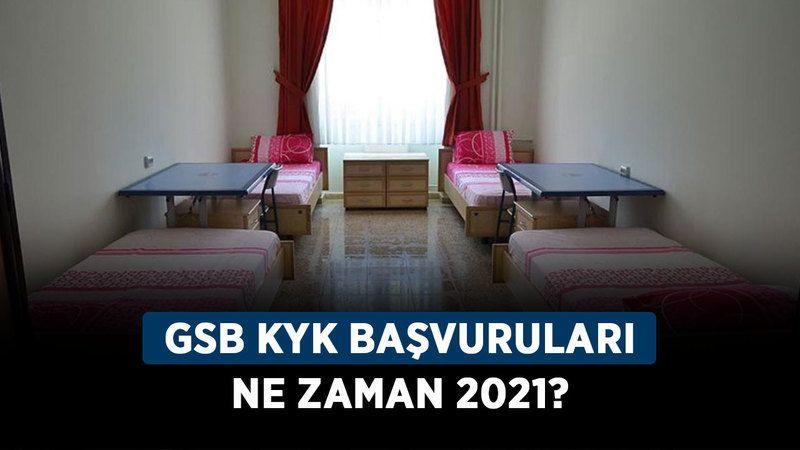 GSB KYK başvuruları ne zaman 2021? KYK yurt başvurusu nerden ve nasıl yapılır?