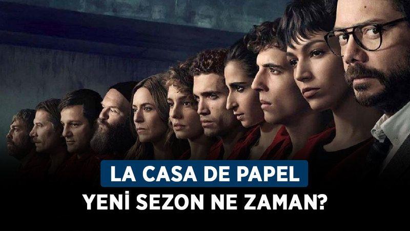 La Casa De Papel yeni sezon ne zaman? La Casa De Papel 5. Sezon hangi tarihte başlıyor?