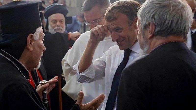 Hristiyan din adamından Macron'a soğuk duş: DEAŞ de sizin gibi Musul'a gece değil gündüz geldi