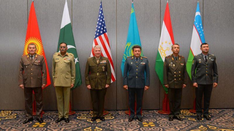 Orta ve Güney Asya Genelkurmay Başkanları Kazkistan'da Afganistan'ı görüştü