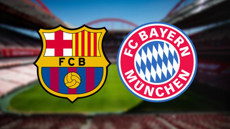 Barcelona - Bayern Münih maçı canlı izle! Exxen Şampiyonlar Ligi canlı