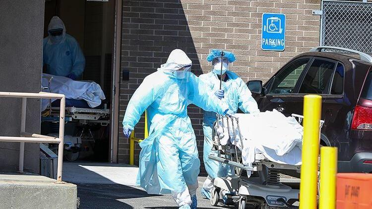 ABD'de korkunç koronavirüs tablosu: Her 500 kişiden biri öldü
