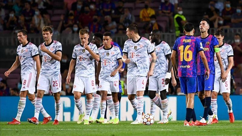 Bayern Münih, Barcelona'yı Camp Nou'ya gömdü! 3-0