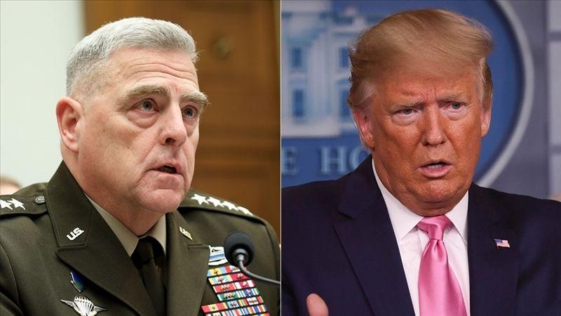 Milley, Trump'a karşı Pekin'e güvence vermiş: Size saldırmayacağız