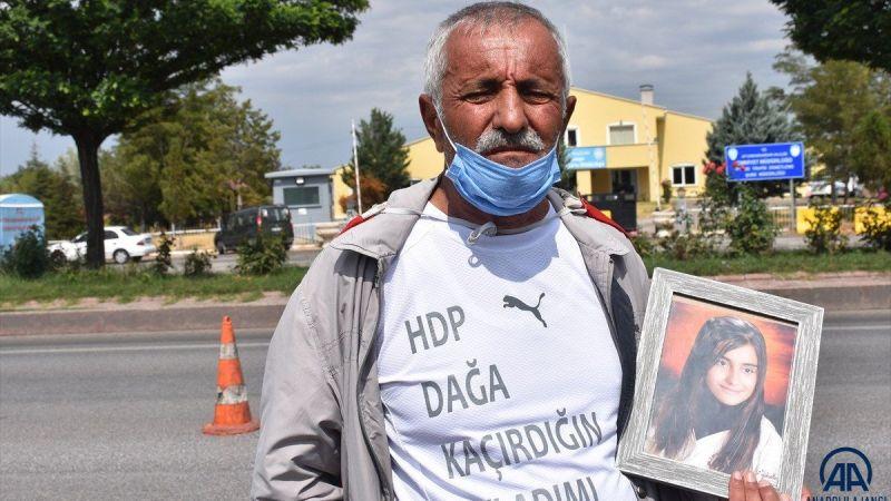 PKK tarafından kaçırılan kızı için İzmir'den Ankara'ya yürüdü