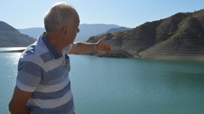 Siirt'te kuraklık nedeni ile barajlardaki su seviyesi düştü