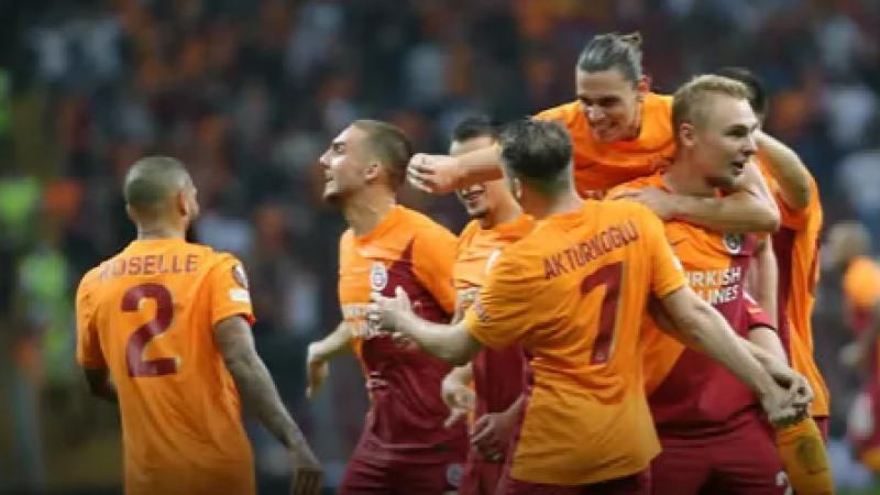 Galatasaray, Lazio'yu devirdi! 1-0