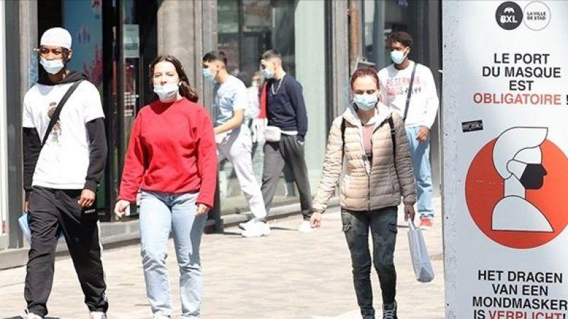 Belçika maskeleri atıyor