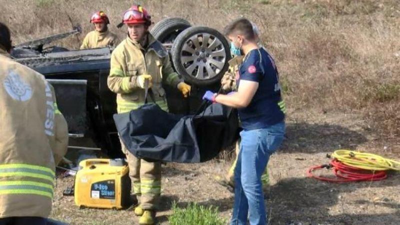 Pendik'te feci kaza! 2 ölü, 2 yaralı