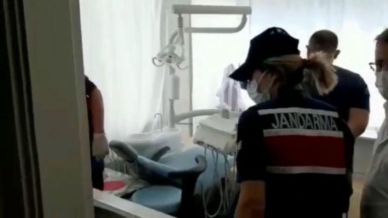 Kocaeli'de sahte diş hekimine operasyon