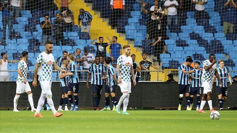 Adana Demirspor konuk ettiği Çaykur Rizespor'u 3-1 yendi