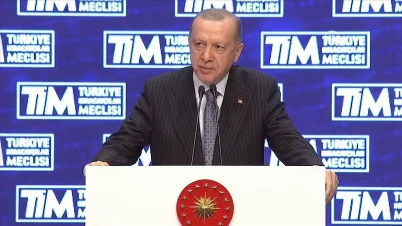Cumhurbaşkanı Erdoğan: Cumhuriyet tarihinin en yüksek ihracat rakamlarına ulaştık