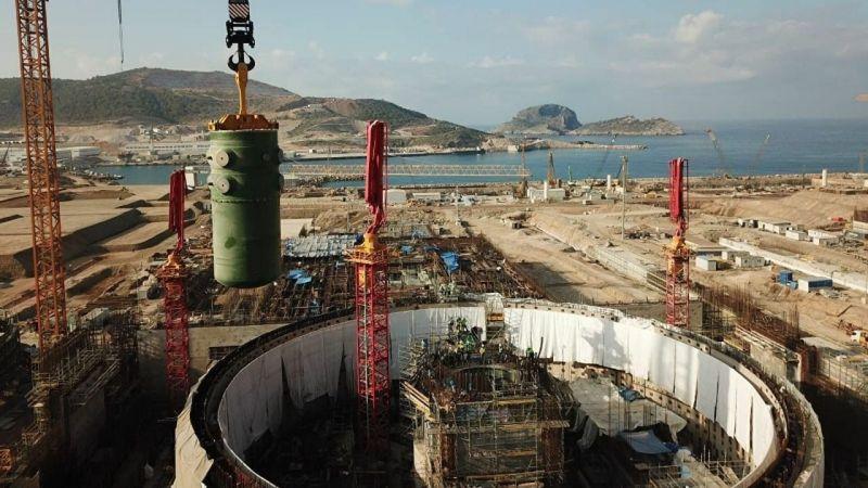 Rosatom: Akkuyu'daki inşaat çalışmaları pandemi boyunca bir gün dahi durmadı