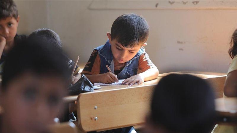 Suriyeli öğrenciler ders başı yaptı