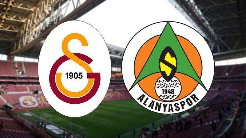 Galatasaray - Alanyaspor maçının muhtemel 11'leri