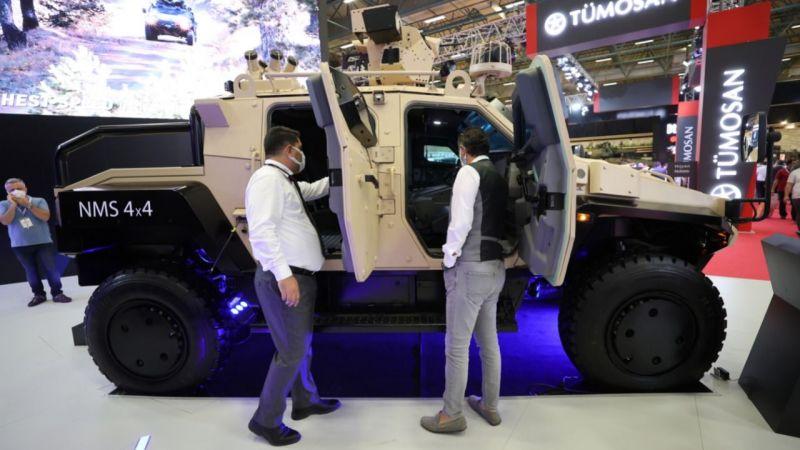 Yerli zırhlı araç Yörük 4x4 için 4 ülke sırada bekliyor