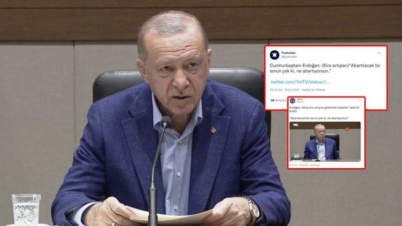 Yol TV'den yalan habercilik: Erdoğan'ın net ifadelerini çarpıttılar!