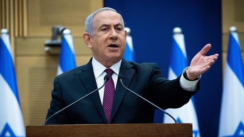 Eski İsrail Başbakanı Netanyahu, ABD Başkanı Biden ile alay etti