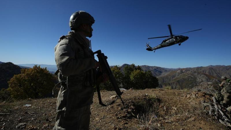 Pençe-Şimşek operasyonda 3 PKK'lı terörist etkisiz hâle getirildi