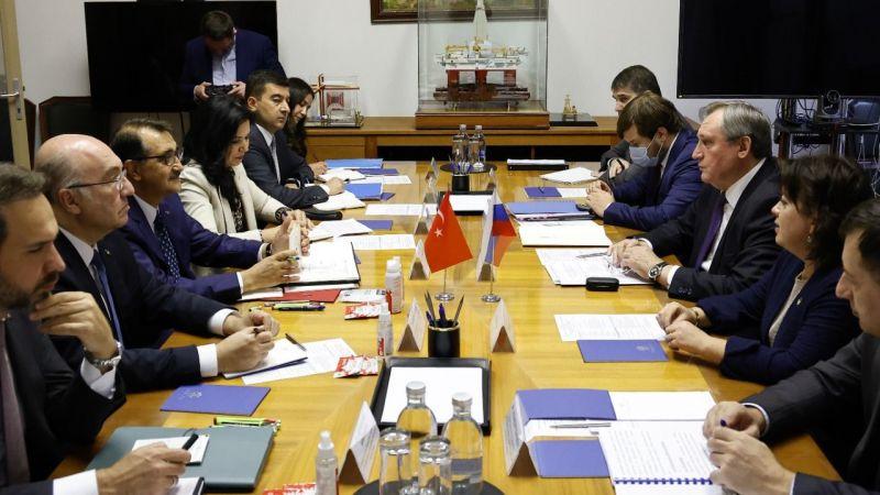Enerji ve Tabii Kaynaklar Bakanı Dönmez, Rusya Enerji Bakanı Şulginov ve Gazprom Başkanı Miller ile görüştü