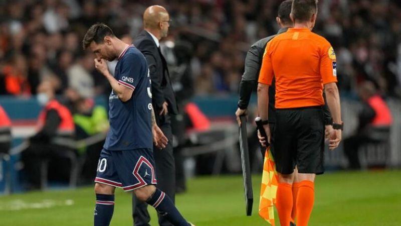 Messi'nin oyundan alınma nedeni belli oldu!