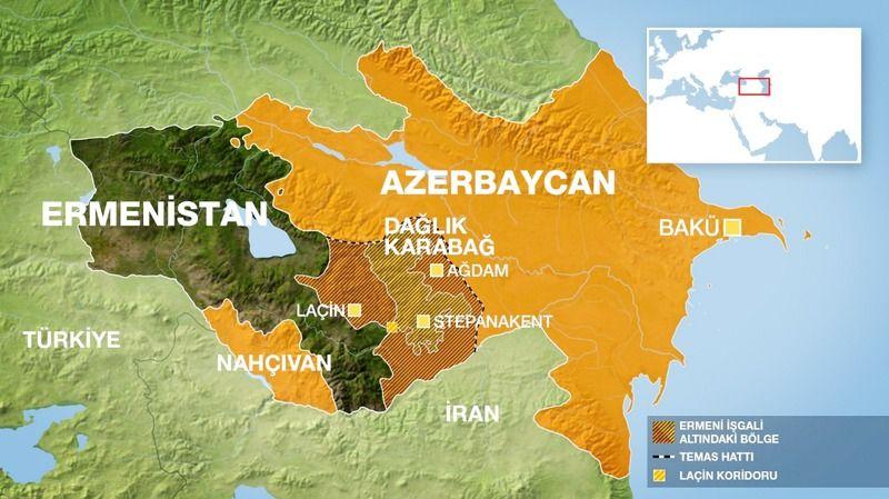 Azerbaycan, Ermeniler'e yardım eden İran'a tepki gösterdi: Topraklarımıza izinsiz giremezsiniz