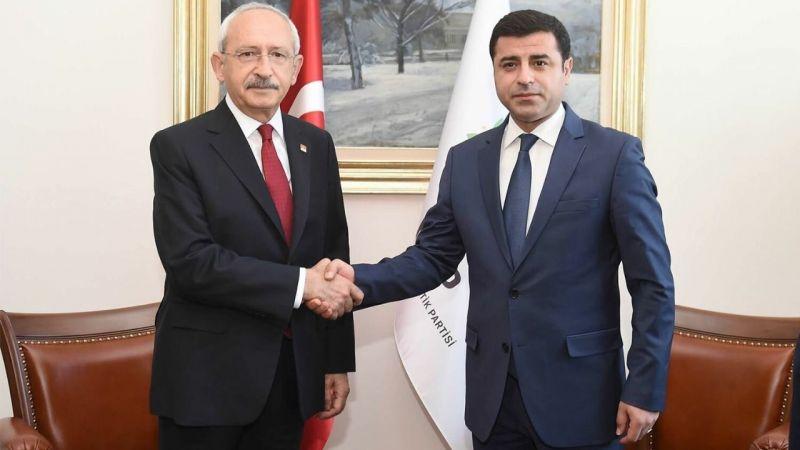 Kılıçdaroğlu'nun imdadına Demirtaş yetişti
