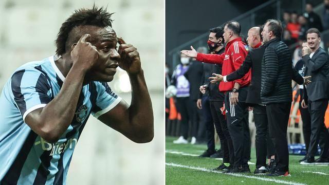 Balotelli'nin Beşiktaş maçındaki hareketi dünya basınında yer aldı