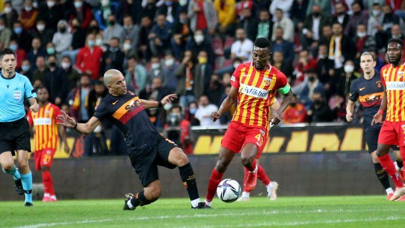 Kayserispor Galatasaray'ı ezdi geçti!