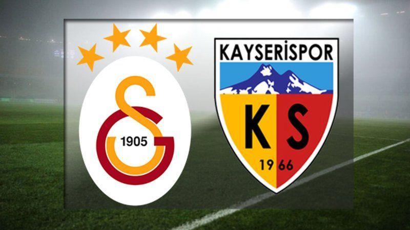 Galatasaray maçı izle! Kayserispor Galatasaray izle (CANLI)