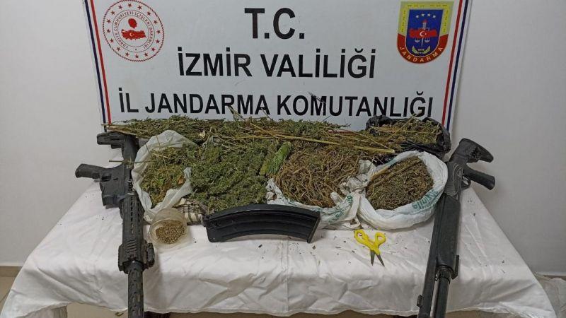 İzmir'de narkotik madde operasyonlarında 63 şüpheli yakalandı