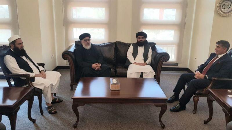 Türkiye'nin Doha Büyükelçisi Göksu, Taliban yetkilisi ile görüştü