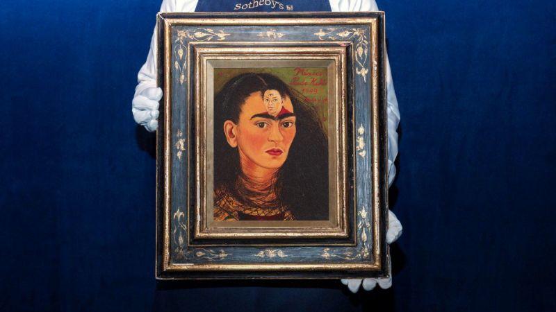 Frida Kahlo otoportresinin 30 milyon dolardan fazlaya satılması bekleniyor