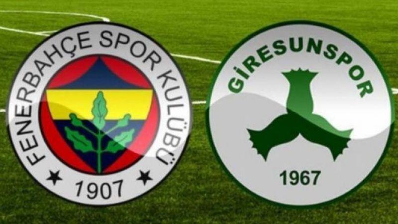Fenerbahçe Giresunspor maçı canlı izle! Fenerbahçe Giresunspor izle (CANLI) Fenerbahçe maçı izle (BEİNSPORTS)