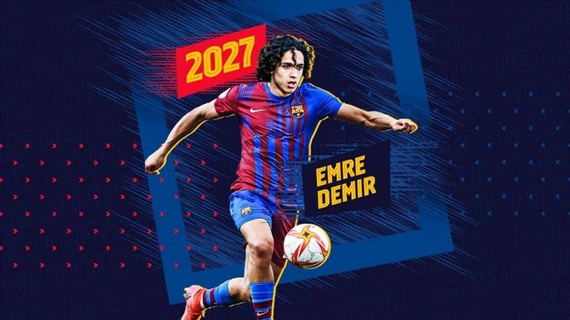 Kayserispor'u gururlandıran transfer: Emre Demir Barcelona yolcusu